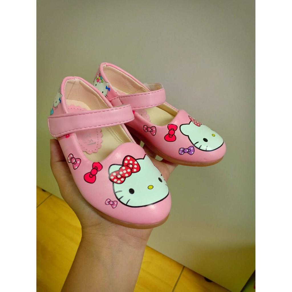 รองเท้าคัชชูเด็กผู้หญิง ลายคิดตี้ น่ารัก ใส่สบาย ไชส์26-30