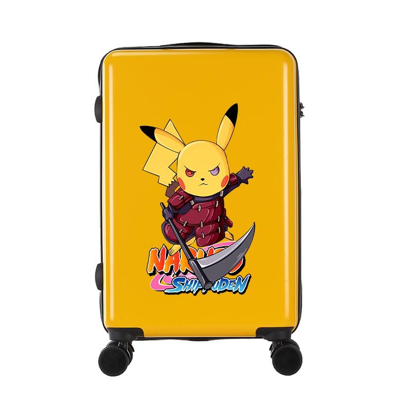 ぜぜ กระเป๋ารถเข็นเดินทาง กระเป๋าเดินทางพกพา กระเป๋าเดินทางเด็ก กระเป๋าเด็กเล็กเด็กนักเรียนรถเข็นกระเป๋าเดินทางการ์ตูนรหัส