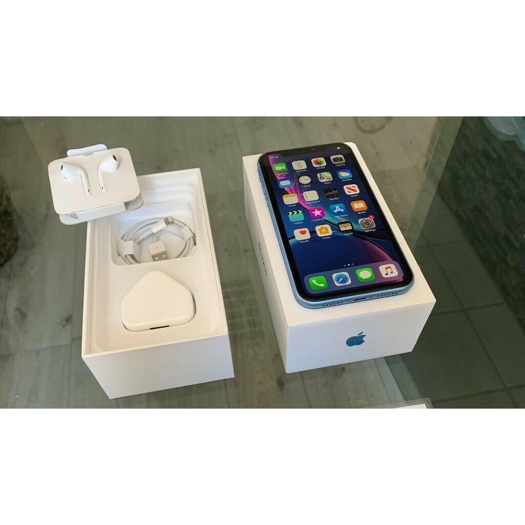 Blue Apple Iphone XR 64GB