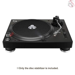 ♫ Metal Audio LP Vinyl Turntables Disc Stabilizer Record Player Weight Clamp