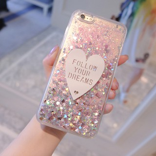 Review iPhone 11 Pro Max X XS Max XR8 7 6 6S Plus 5 5s Glittering Heart Soft Case
