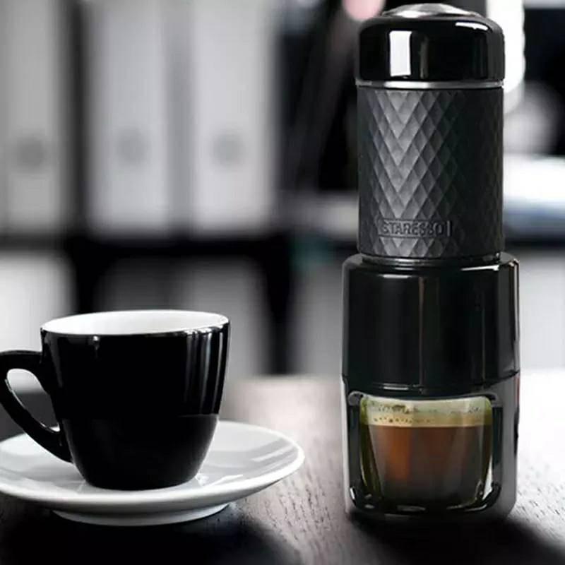 เครื่องทำกาแฟมินิ เครื่องชงกาแฟ แคปซูลกาแฟเอสเปรชโซ่ 80ml เครื่องชงกาแฟมินิ พกพาสะดวก SP-200