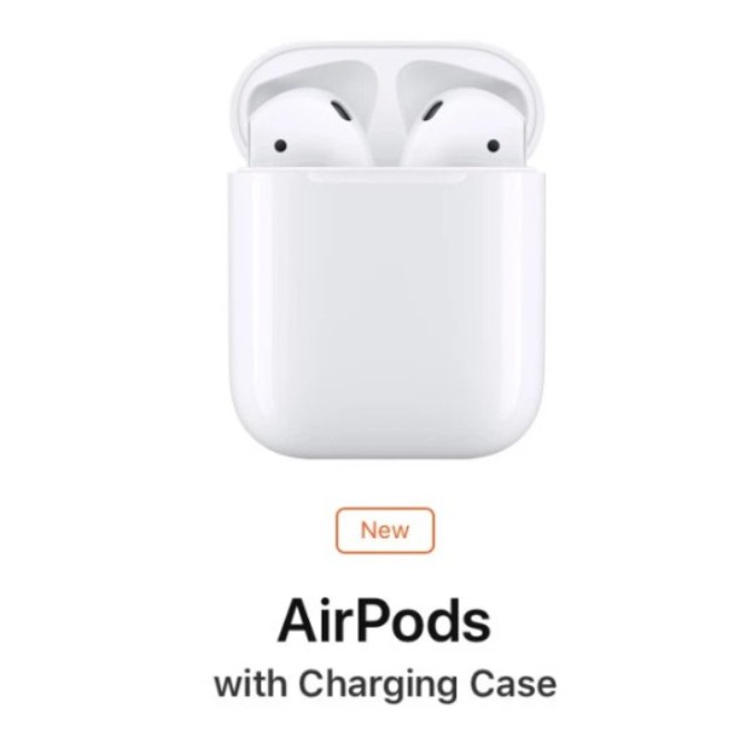 Apple AirPods Gen2 2019 New Model ของแท้