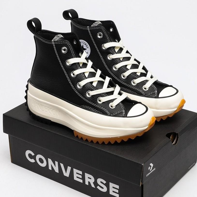 2020 รูปแบบใหม่ Converse chuck Run Star Hike Hi คอนเวิร์สแท้ casual เพิ่มความสูงของรองเท้า รองเท้าสตรี