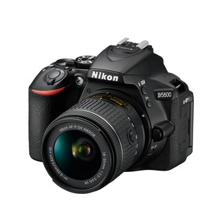 Nikon DSLR D5600 with LENS KIT NIKKOR AF-P 18-55mm