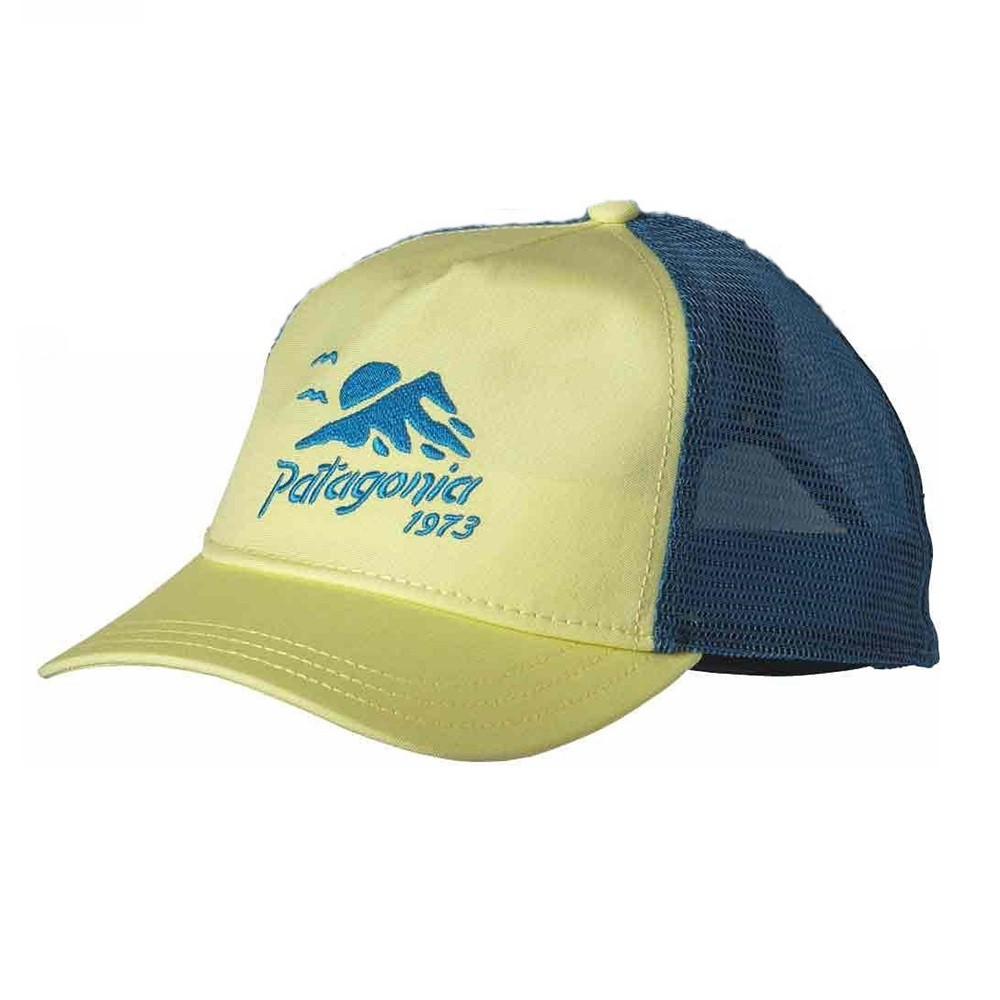 Patagonia แท้ หมวก One Size Women สีเหลืองอ่อน