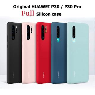 Review Official Original Silicone Real Liquid Soft Case Huawei P30 Pro Casing Huawei P30 Cover