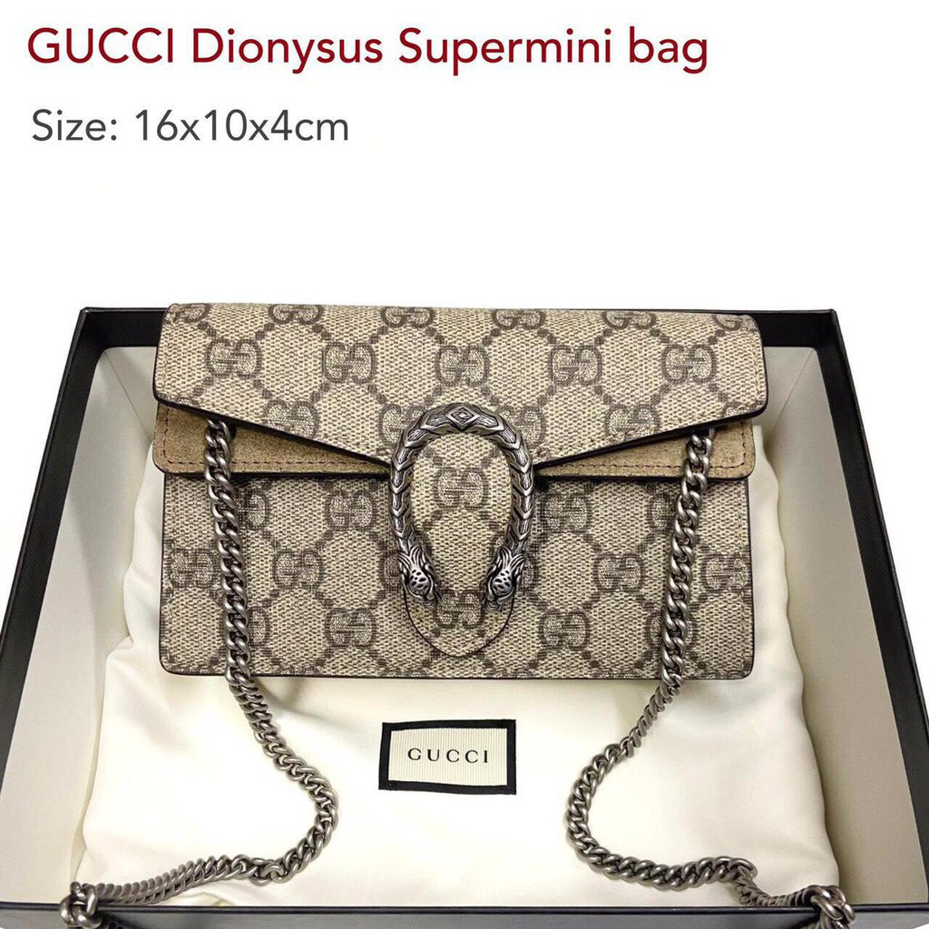 📌New Gucci Dionysus supermini bag