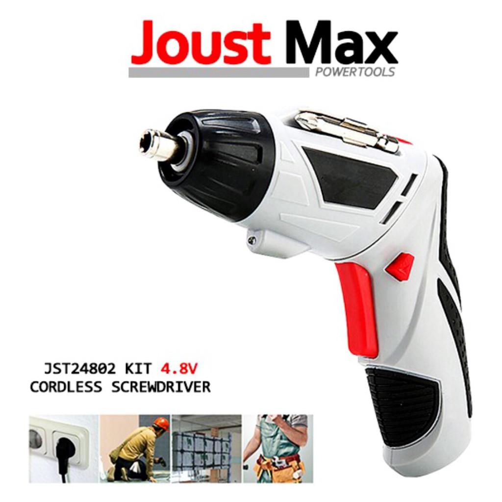 สว่านไขควงไฟฟ้า ไร้สาย Joust Max แบต 4 8V