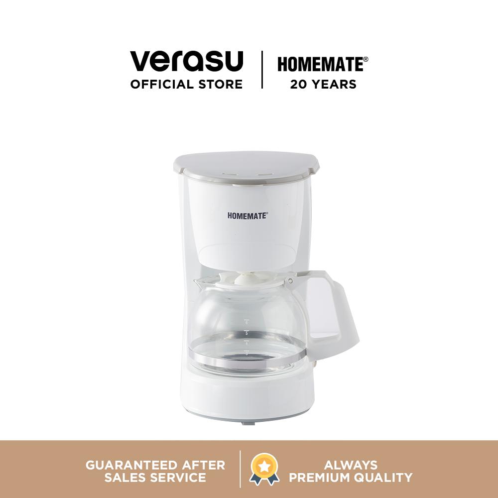 HOMEMATE เครื่องชงกาแฟแบบหยด รุ่น HOM-264082 เครื่องชงกาแฟ เครื่องทำกาแฟ