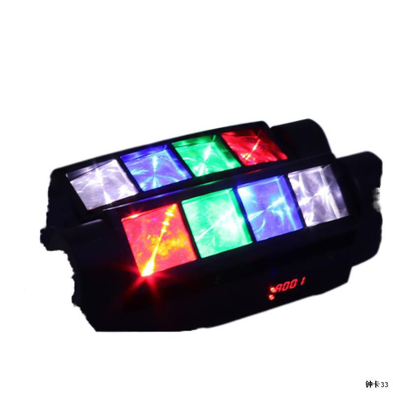 SAFUNไฟหมุน ไฟเวที ไฟเธคเลเซอร์ ไฟเลเซอร์ในผับ ไฟเวทีแปดตา ไฟแฟลชเวที ไฟเลเซอร์8หัว ไฟแฟลช KTV แฟลช LED Light Bar ไฟหัว1