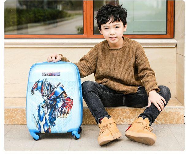 ↮˜ กล่องเดินทาง กล่องเก็บเสื้อผ้า กระเป๋าเดินทางเด็ก รหัสผ่านกรณีรถเข็น20นิ้วชายและหญิงกระเป๋าเดินทางการ์ตูนตัวถังกระเป๋