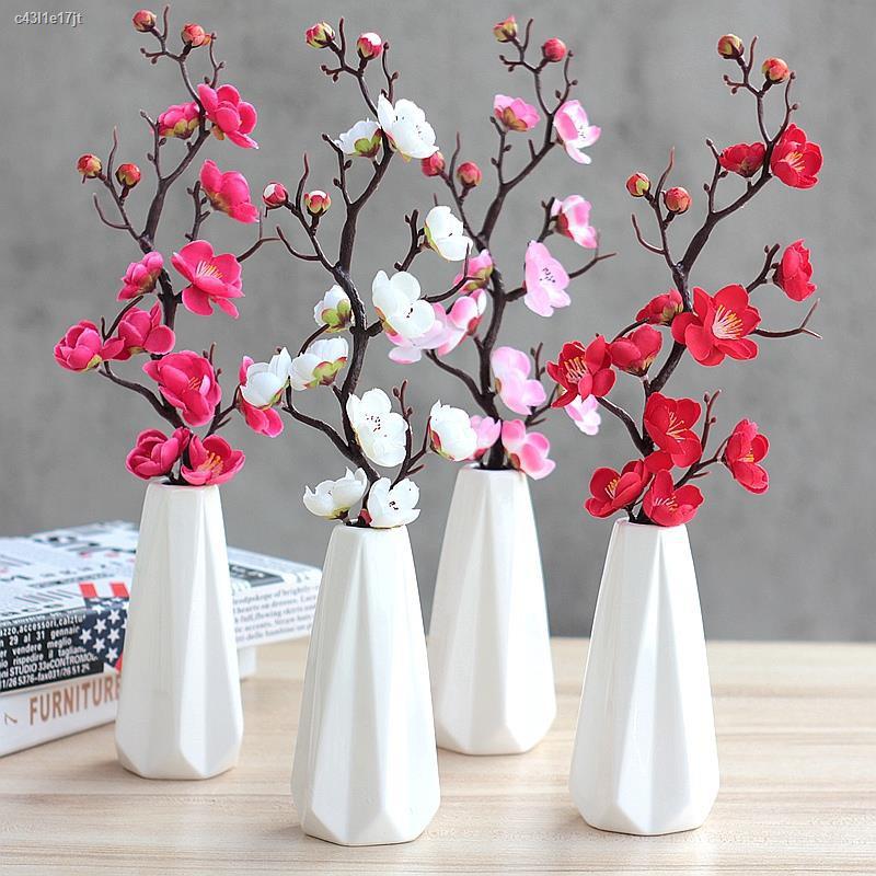 การจำลองพันธุ์ไม้อวบน้ำ☂จำลอง ช่อดอกไม้แห้ง ช่อดอกไม้ปลอม ดอกโบตั๋นกระถางดอกกุหลาบ ตกแต่งห้องนั่งเล่น ดอกไม้พลาสติก ตกแต