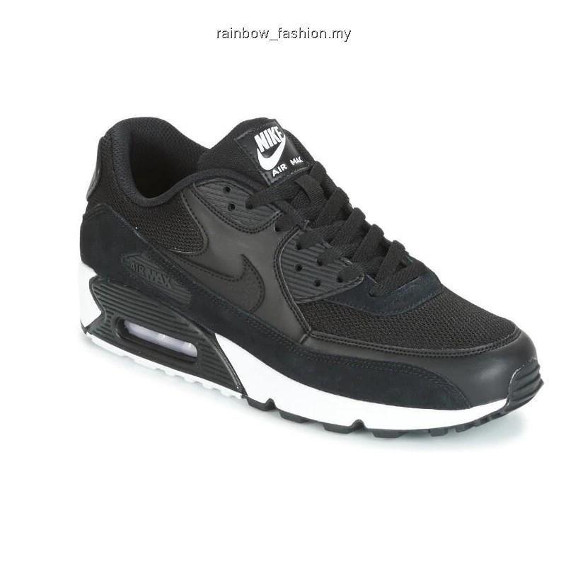 รองเท้าผ้าใบ Original ไนกี้ รองเท้าผู้ชาย รองเท้าผู้หญิง รองเท้าผ้าใบ nike Flyknit Air Max 90 สำหรับผู้ชาย
