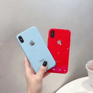Image # 6 of Review เคสเอฟเฟคเเก้ว สีสันสดใส สำหรับ  iPhone 11 pro max i11 6 6 S 7 8 Plus X XR XS Max phone Case