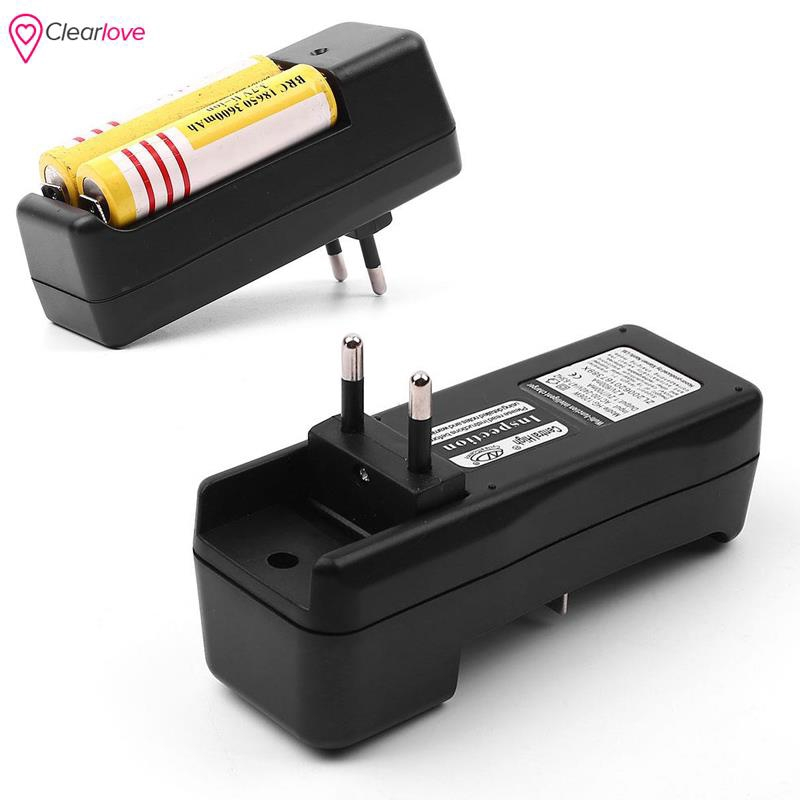 Single Slot Portable Battery Charger for 18650 3.7v Lithium Polymer Battery