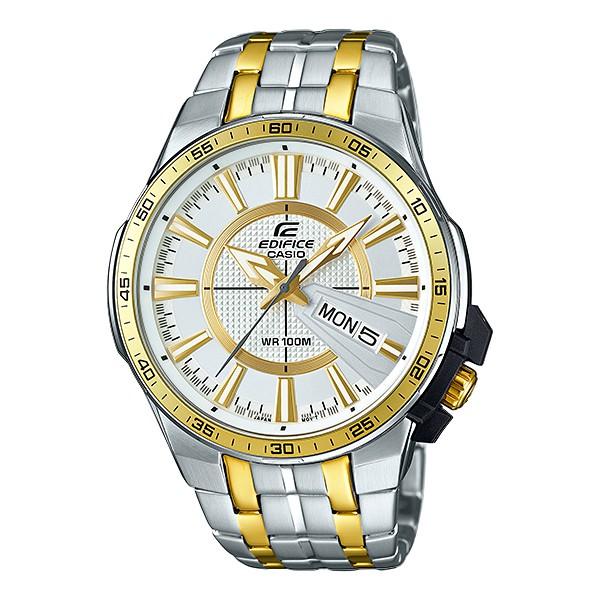 Casio Edifice นาฬิกาข้อมือผู้ชาย สายสแตนเลส รุ่น EFR-106SG-7A9