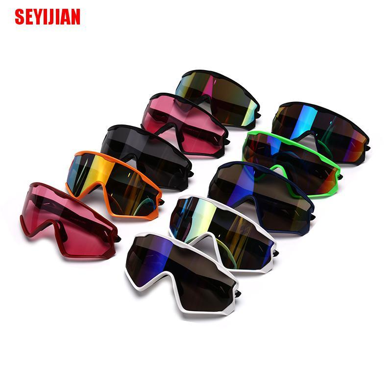 (SEY) Photochromic Cycling Glasses Men/Women Sport Road Bike Eyewear