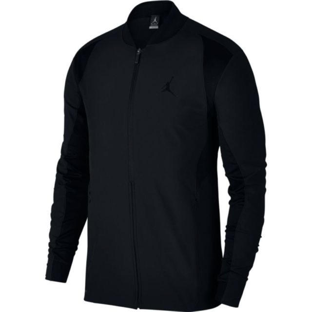 Jordan Ultimate Flight Wings Men Jacket Triple Black