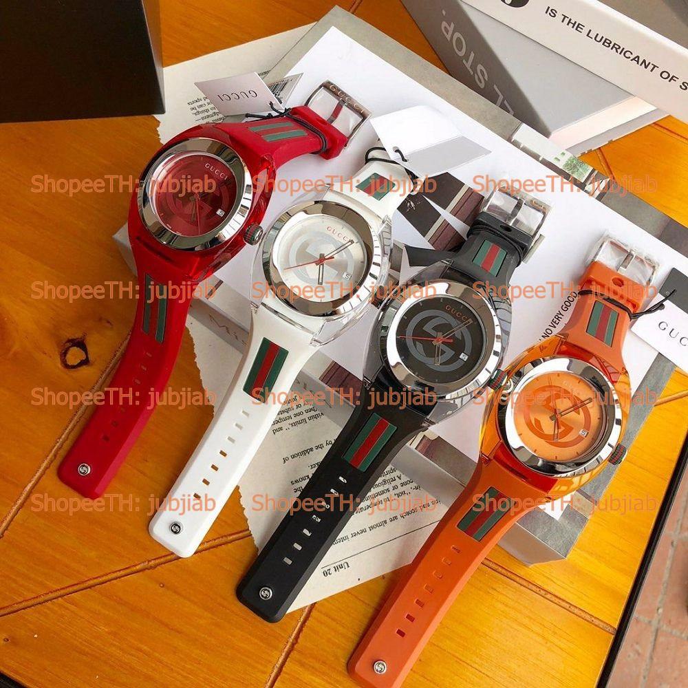 [Pre] YA137101 YA137102 YA137103 YA137301 YA137302 SYNC 46mm 36mm Mens Ladies Watch Gucci นาฬิกาผู้ชาย นาฬิกาผู้หญิง