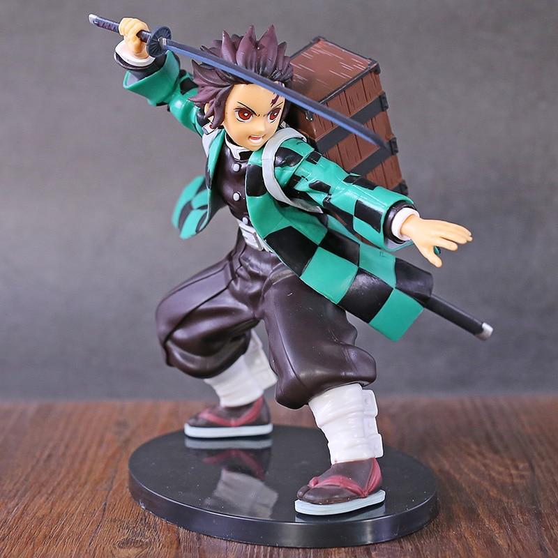 Demon Slayer Kimetsu No Yaiba Kamado Tanjirou Agatsuma Zenitsu Inosuke Hashibira SPM Figure Collectible Model Toy