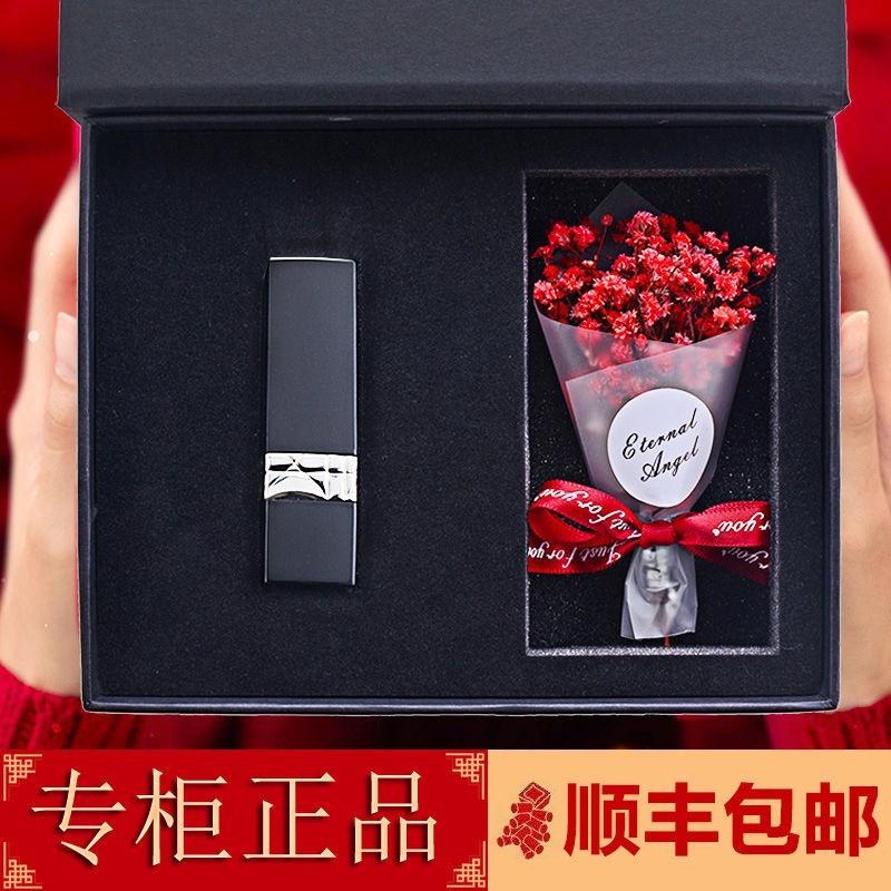 โฟมล้างหน้า☌Dike Dior/Dike Dior Lipstick 999 Matte Moisturizing Niche Set Gift Box 888