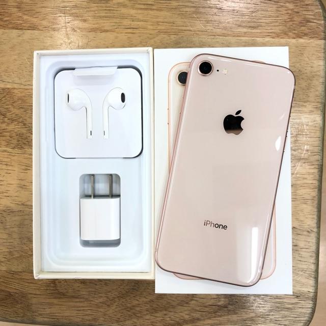 Iphone8 64gสี ทอง โมเดลLL  ราคา13,399฿#ดีเจโฟน#สนใจทักมาค่ะ