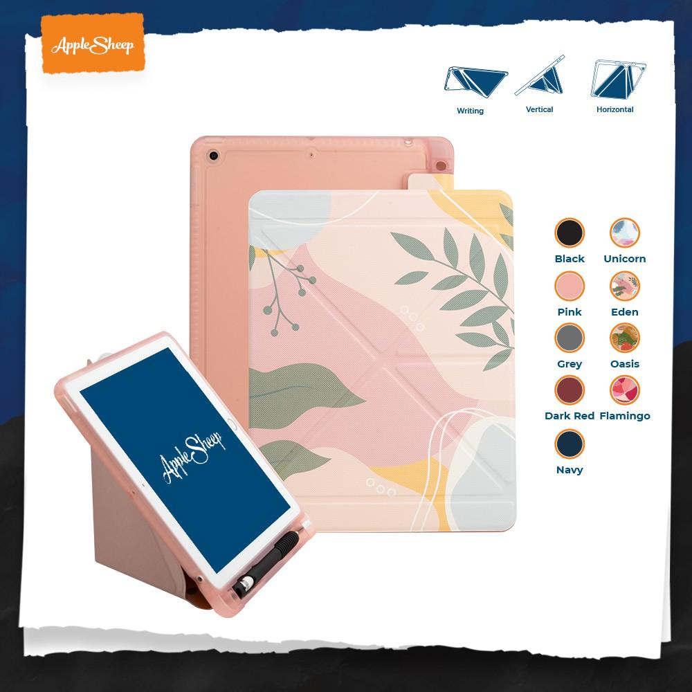 """Origami """"Plus Series"""" เคส iPad 9.7 2018 (Gen6) เคสไอแพดคุณภาพดีที่สุดจาก AppleSheep [แบบเก็บปากกาที่ใส่ปลอกปากกาได้]"""