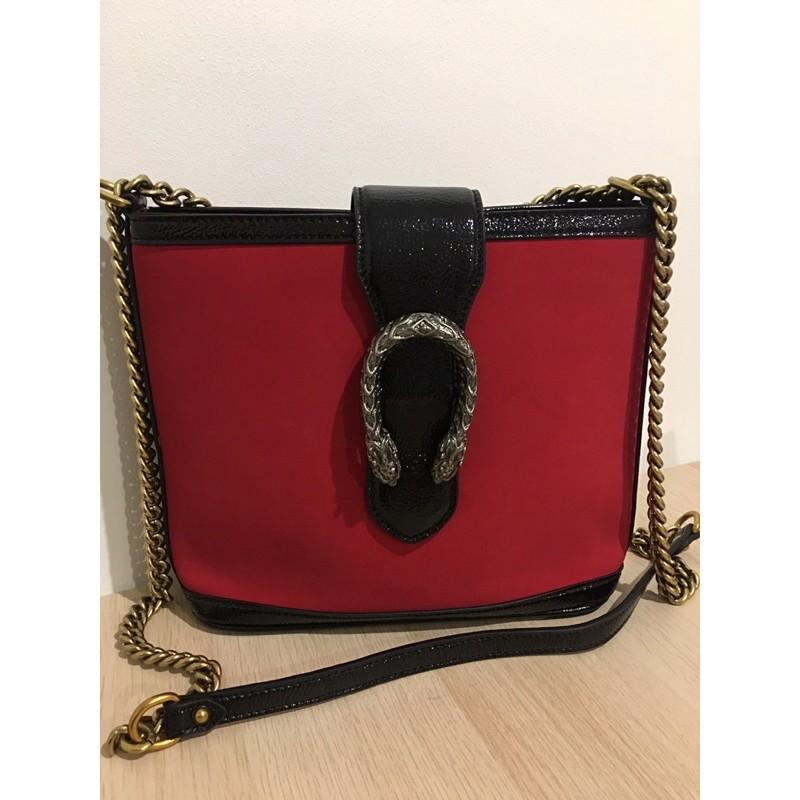 กระเป๋า Gucci Dionysus Bucket Bag Suede Medium มือสองจากโกดังญี่ปุ่น พร้อมส่ง