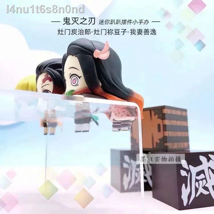 🔥มีของพร้อมส่ง🔥ลดราคา🔥♦3 ชิ้น/เซ็ต Kimetsu no yaiba tanjiro figure model nezuko zenitsu demon slayer ฟิกเกอร์ ดาบพิฆ