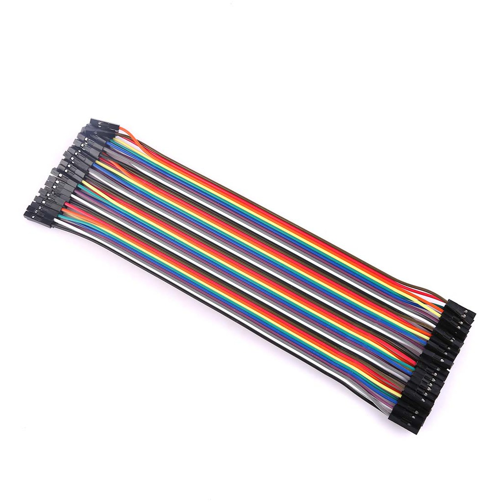 40x 20cm 2.54mm Female to Female Dupont jumper wire cable for Arduino Breadboard