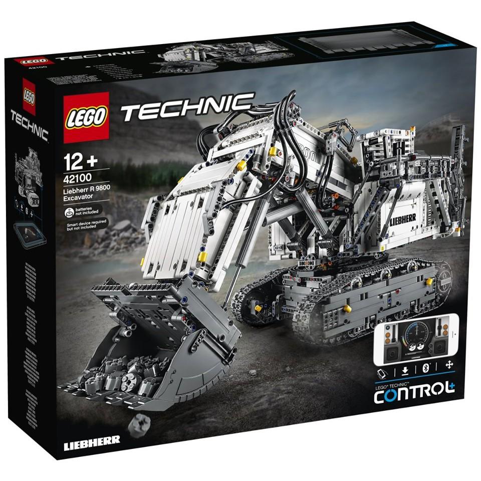 LEGO Technic เลโก้ 42100 Liebherr R 9800 Excavator