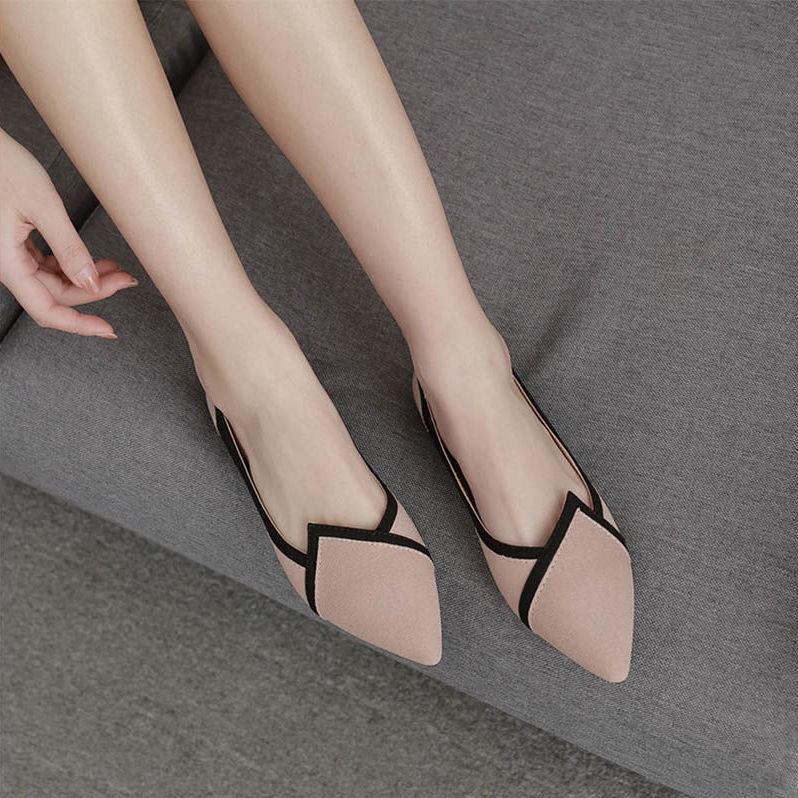 🌹🌹 รองเท้า  รองเท้าผู้หญิง รองเท้าคัชชู ส้นสูง แฟชั่น ส้นสูง 2 นิ้ว  🌹🌹 ⚡มีสินค้า