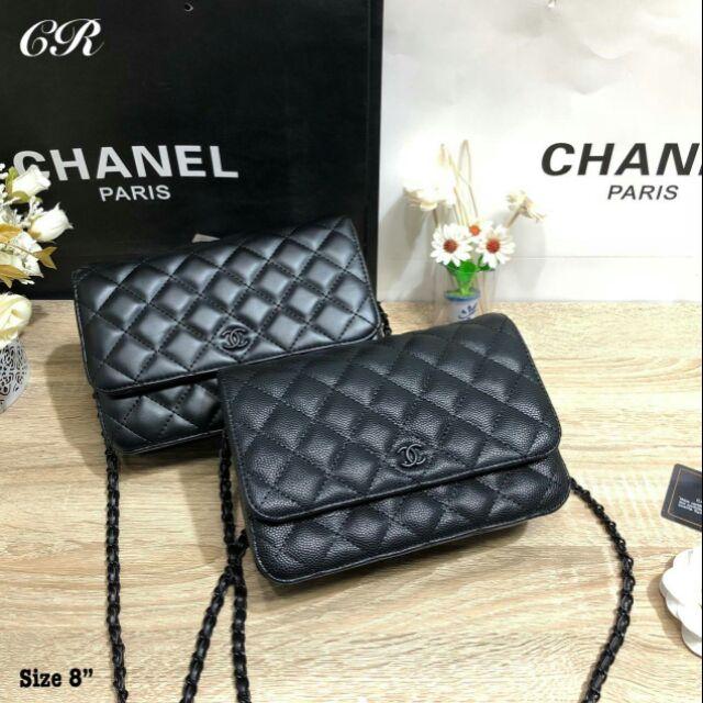 "Chanel woc 8"" อะไหร่รมควัน หนังสวยมากกกก"