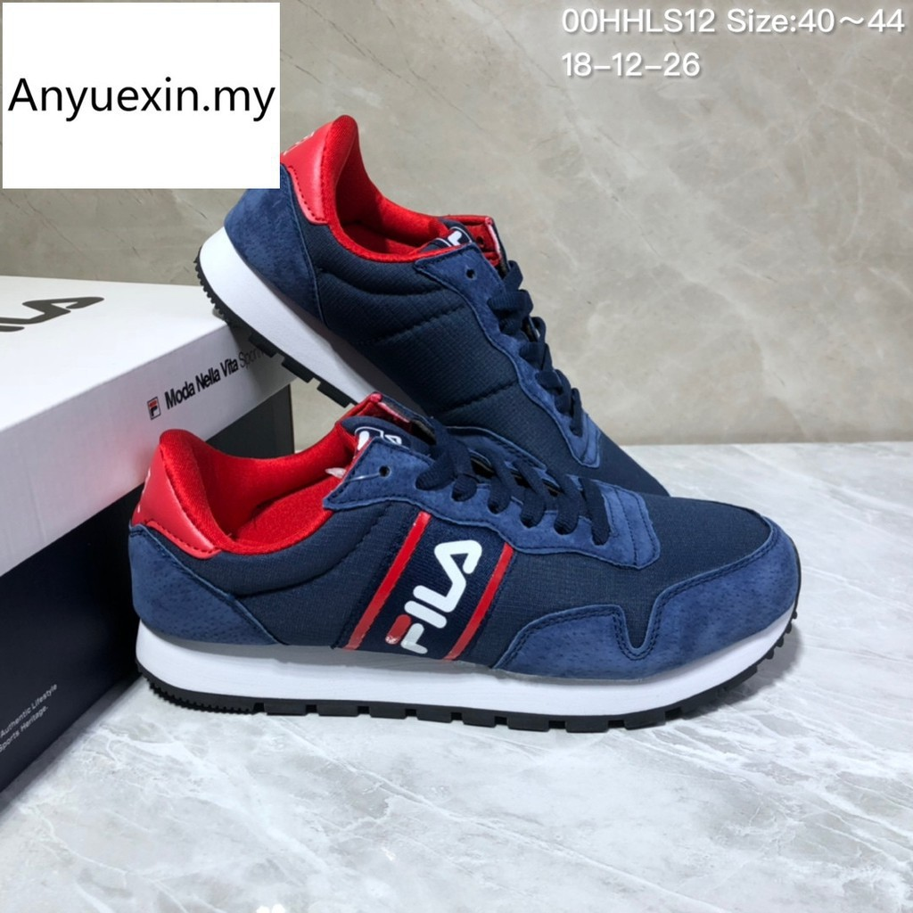 Fila FHT RJ Star 85 ผู้ชาย รองเท้าผ้าใบ แท้ รองเท้ากีฬา รองเท้าวิ่ง men running shoes size:40-44