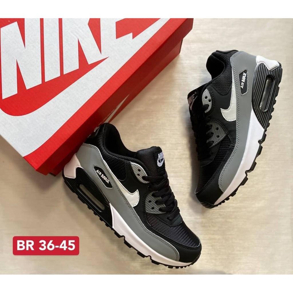 ต้นฉบับ ✨รองเท้าNike_Air max 90🌈'สวยแท้100% อุปกรณ์ครบพร้อม กล่อง+ใบเซอร์ รองเท้าผ้าใบ รองเท้าวิ่ง  รองเท้าลำลอง [sku00