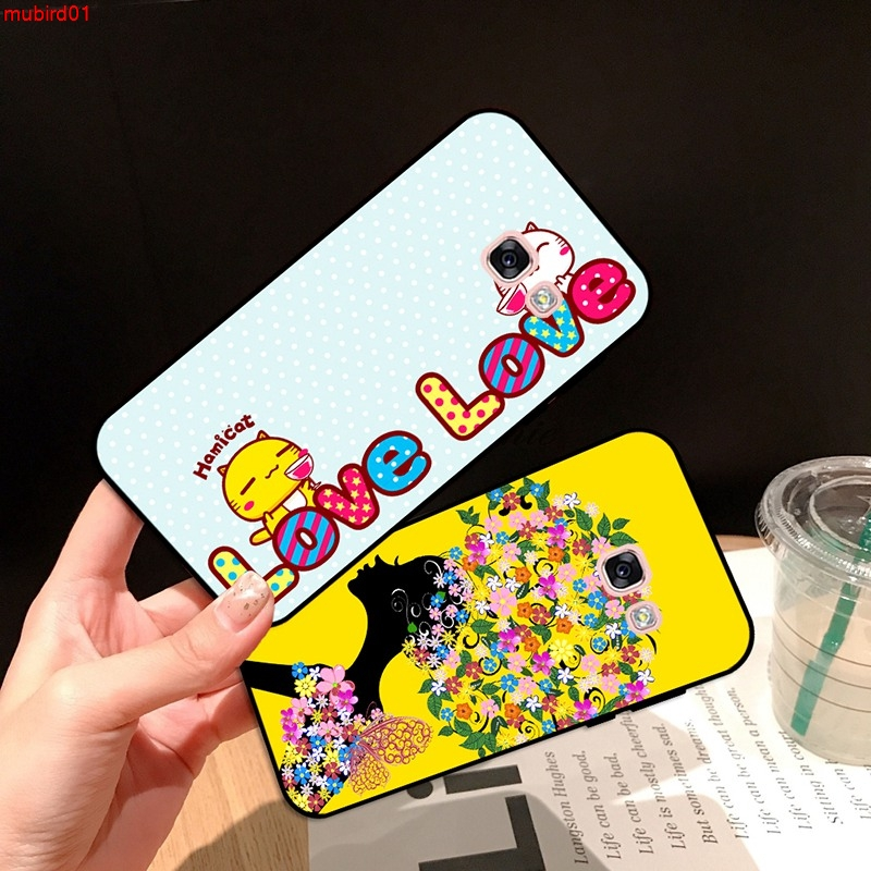 Samsung A3 A5 A6 A7 A8 A9 Pro Star Plus 2015 2016 2017 2018 LTY Pattern-2 Silicon Case Cover