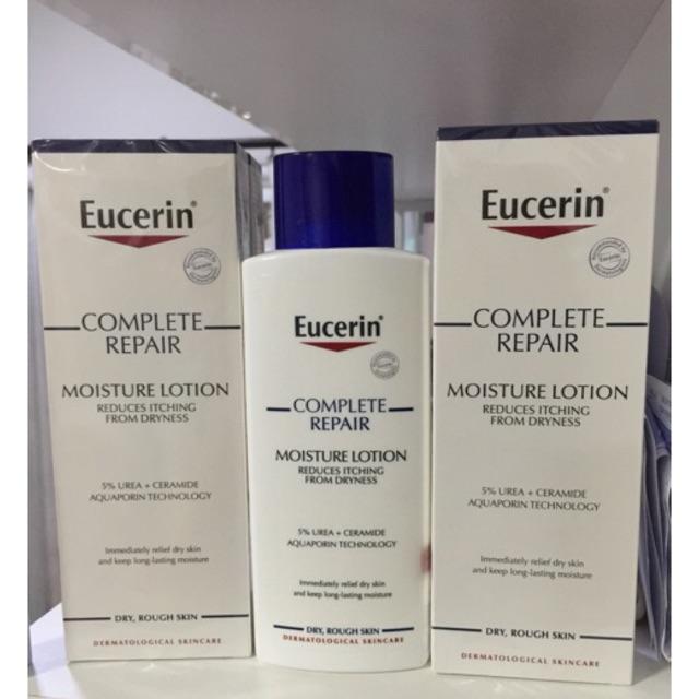 Eucerin Complete Repair Moisture Lotion ฝาน้
