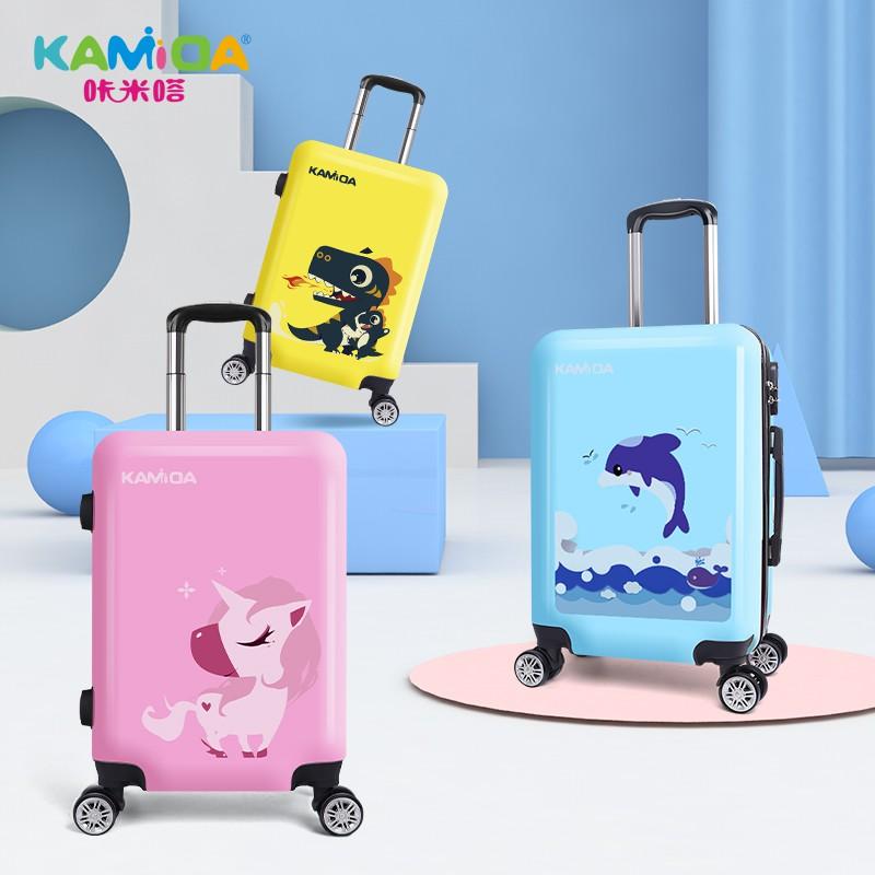 ー≓กระเป๋าเดินทางเด็ก  กระเป๋ารถเข็นเดินทาง กระเป๋าเดินทางพกพา กระเป๋าเดินทางเด็ก Kamita กระเป๋าเดินทางการ์ตูนน่ารักสำหรั