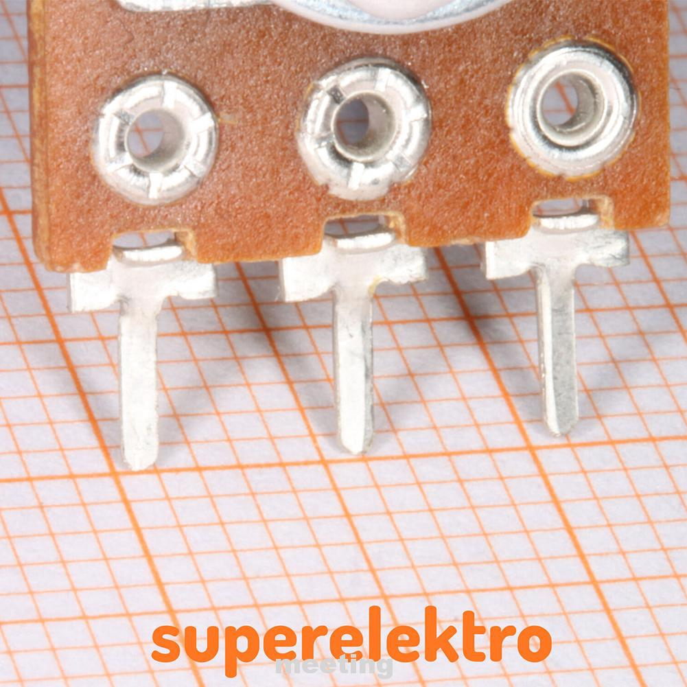 18pcs//set B20K B50K B100K Assortment Single Couplet Potentiometer Set B1K-B1M