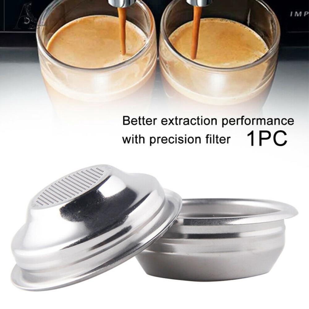 ❀ฟิลเตอร์กรองกาแฟ แบบไม่เป็นสนิม 58 มม. สำหรับเครื่องทำกาแฟเอสเปรสโซ่กึ่งอัตโนมัติ