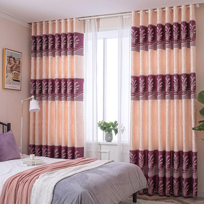 ❄ผ้าม่านกันฝุ่น ผ้าม่านบาง ผ้าม่านกันแดด ผ้าม่านสำเร็จรูป โปร่งแสงผ้า ปราศจากหมัด สำเร็จรูปพรุนผ้าม่านผ้าห้องนอน