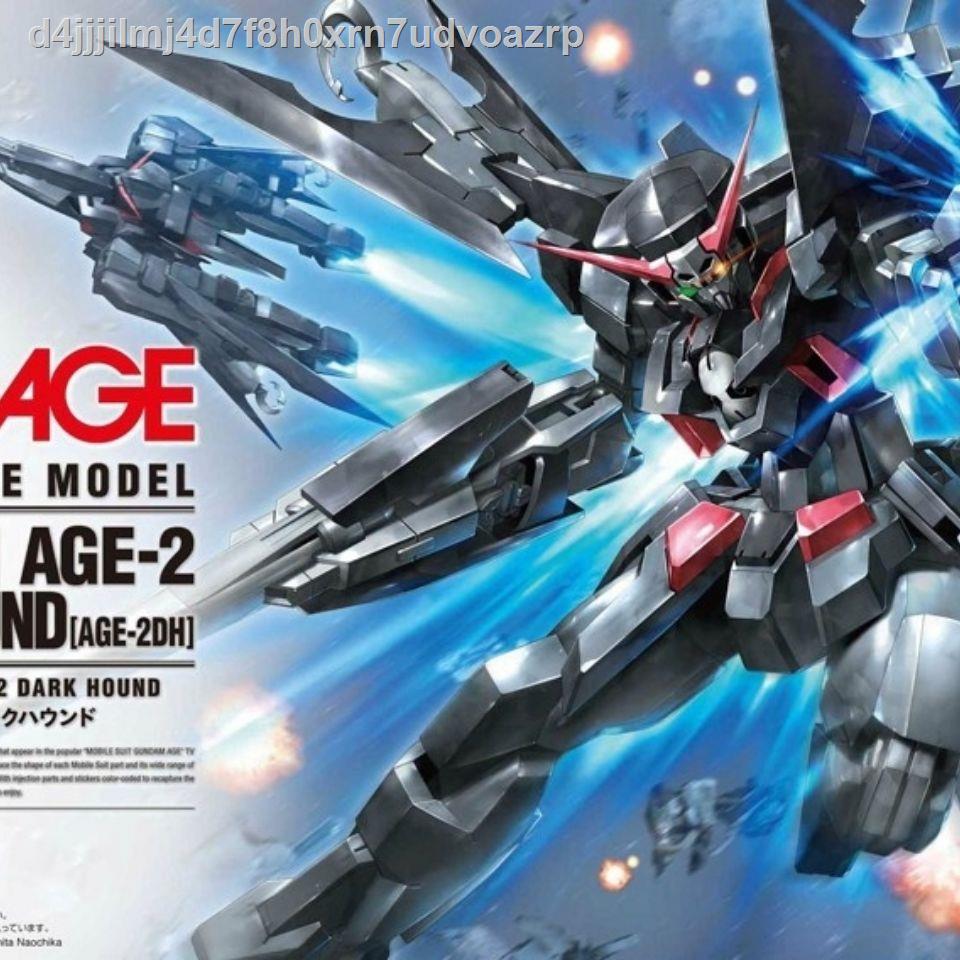 ✐Spot Bandai 1/144 HG AGE-24 Pirate Gundam Dark Hound with bracket assembly model