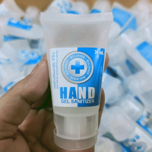 เจลล้างมือ HAND GEL SANITIZER (BULIANZE) หลอดบีบ 30 ml.