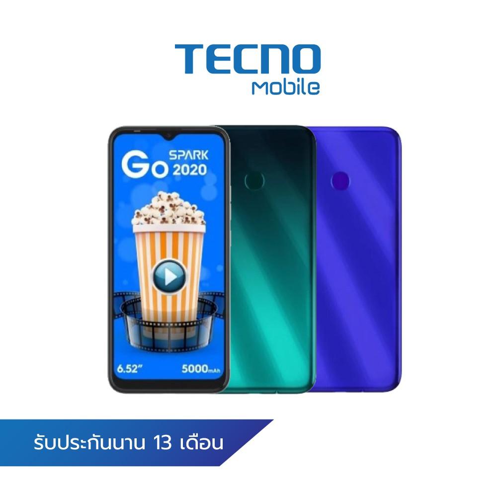 TECNO SMART PHONE SPARK 6 GO / หน้าจอ 6.52 นิ้ว / Rom 32 GB / Ram 2GB