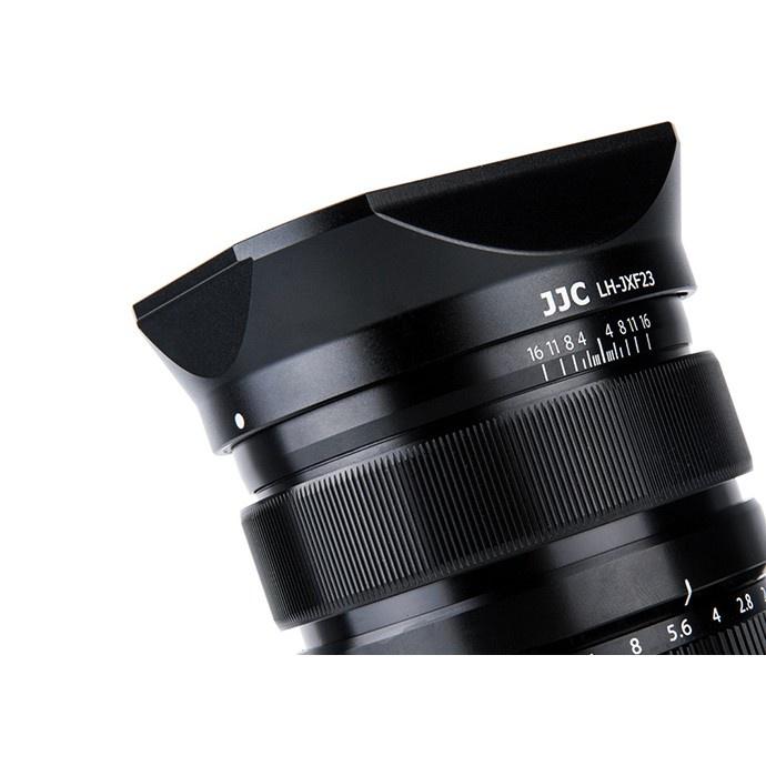 อุปกรณ์เสริมกล้อง ฮูดเลนส์ JJC LH-JXF23 สำหรับเลนส์ Fuji 23mm F1.4 และ 56mm F1.2