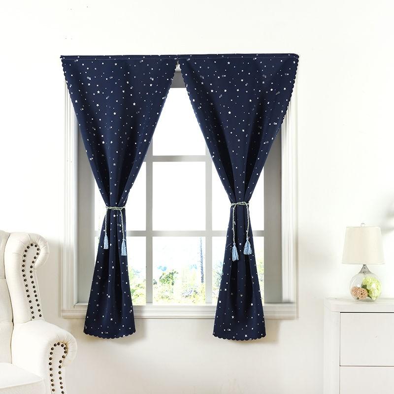 📣สินค้าพร้อมส่ง # ไม่เจาะ Velcro ม่านทึบผ้าม่านสำเร็จรูปบ้านห้องนอนผ้าม่านประตูห้องนั่งเล่น