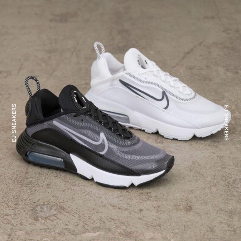 Cf - Nike Air Max 2090 รองเท้าผ้าใบสีดําขาว Ck 2612-002 Ck2612-100
