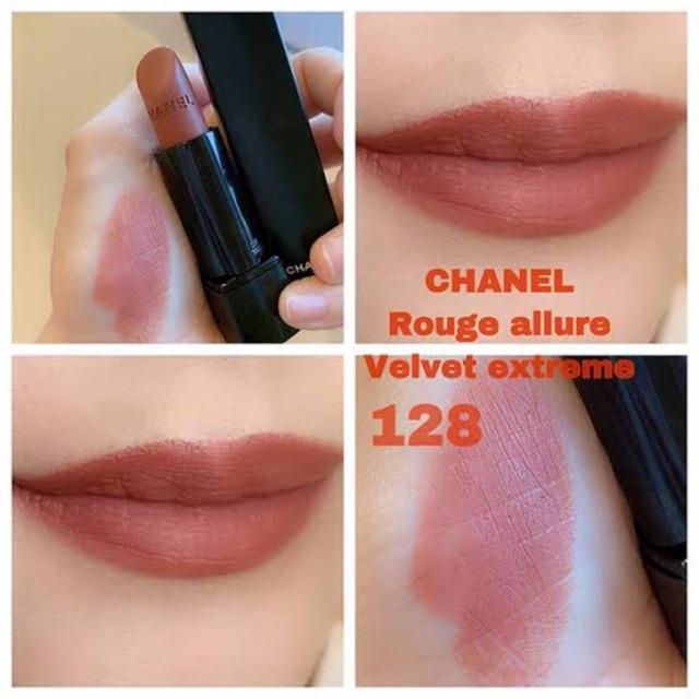 Chanel 128 Allure เบอร์ Lip Valvet Rouge