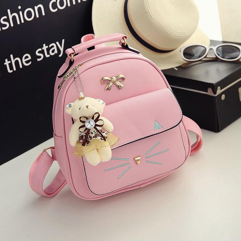 กระเป๋าเป้เด็กกระเป๋าเป้เดินทางโรงเรียนประถมสาวน่ารักเจ้าหญิงในสาวเกาหลีรุ่นน้ำกระเป๋านักเรียนสบาย ๆ